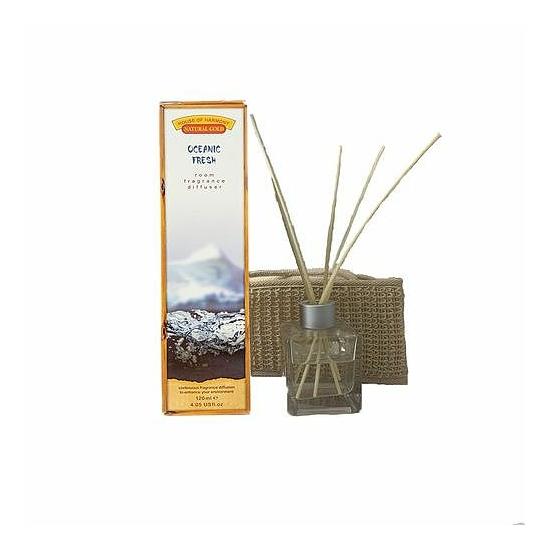Bambuszpálcás illatosító friss óceán illat (120ml, Oceanic Fresh)