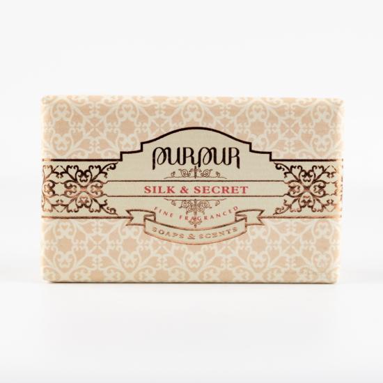 PurPur szappan (190g, Silk&Secret)