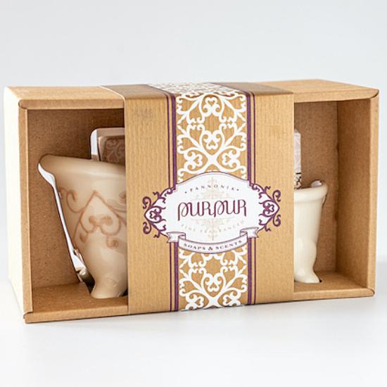 PurPur Box Kád+Szappan (Silk&Secret)