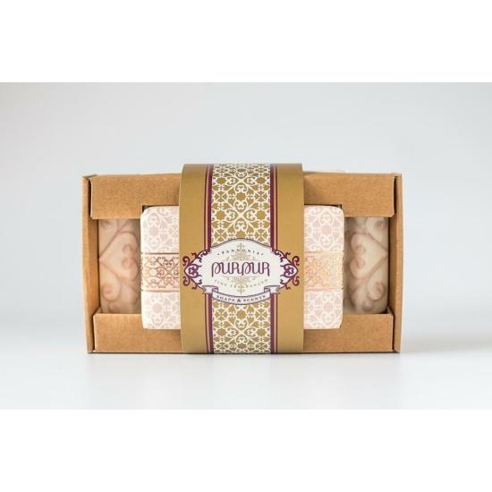 PurPur Box Tál+Szappan (Silk&Secret)