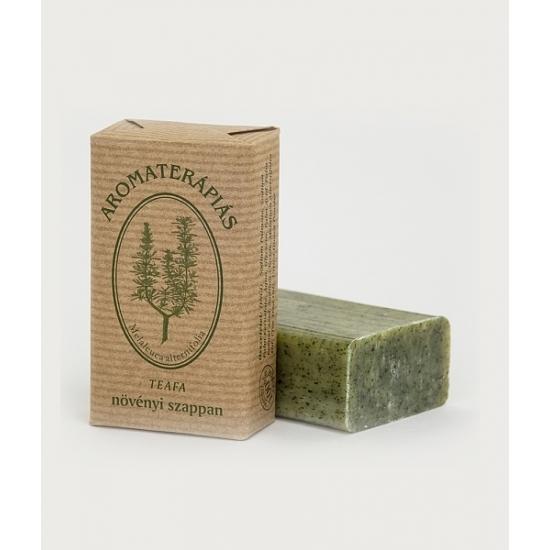 Aromaterápiás natúr szappan Teafa illóolajjal 90g