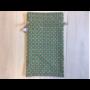 Kép 2/2 - Újrazsák-Kenyeres tasak, Páva-zöld
